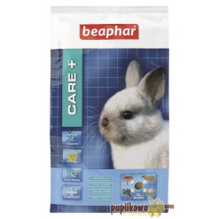 Care + Rabbit Junior - karma super premium dla młodego królika do 10 ms życia 250g