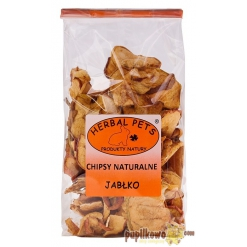 Herbal Pets - chipsy naturalne - jabłko 100g