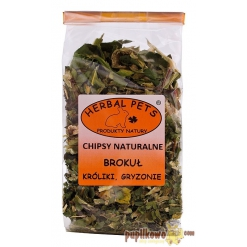 Herbal Pets - chipsy naturalne - brokuł 50g