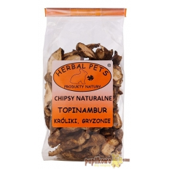 Herbal Pets - chipsy naturalne - topinambur 75g