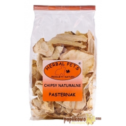 Herbal Pets - Chipsy naturalne - pasternak  - 125g