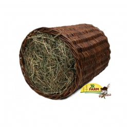 JR FARM Mr. Woodfield Duży tunel z siana wierzbowy 450 g