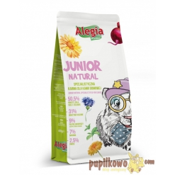 Alegia Junior Natural dla Kawii - bez zbóż 650g