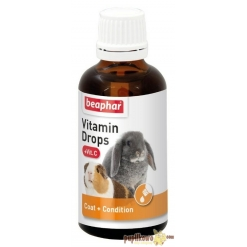 Beaphar Vitamin Drops + Vit C 50ml