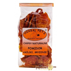Herbal Pets - chipsy naturalne - pomidor 40g