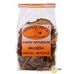 Herbal Pets - Chipsy naturalne - gruszka 75g